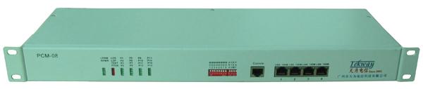 E1转8路电话+网口-PCM08