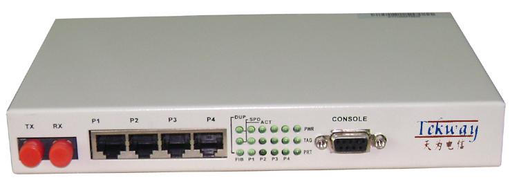 4口光纤交换机