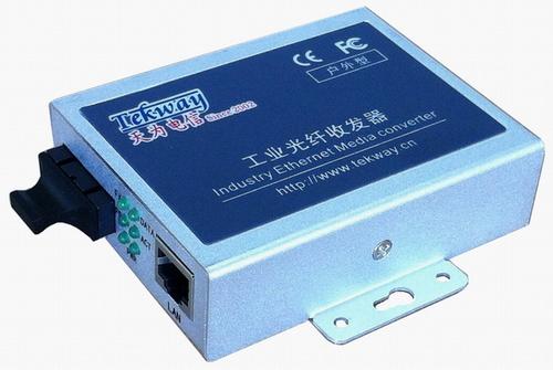 百兆POE光纤收发器