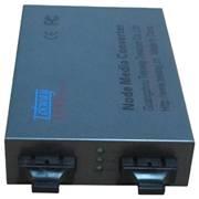 1+1双光口保护倒换以太网光纤收发器