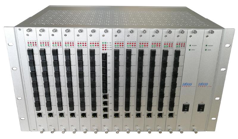 96路光纤汇聚交换机