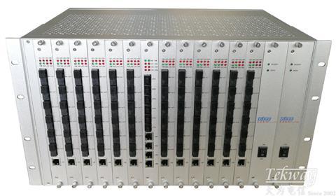 48口光纤汇聚交换机