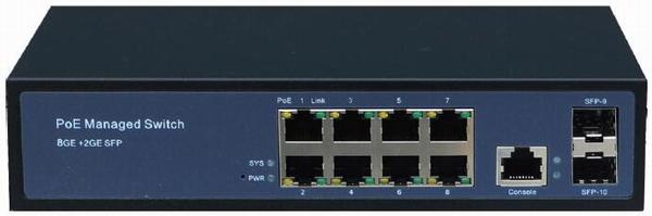 管理型PoE以太网交换机系列