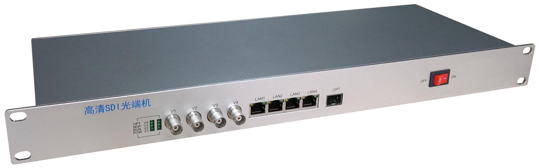 4路SDI+4路千兆网口高清万博手机网站-GD8-12X