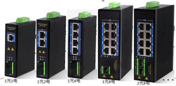 网管型工业级光纤收发器