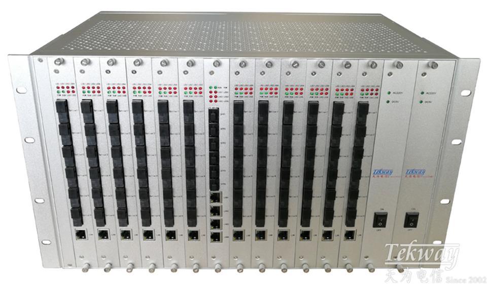 24光纤汇聚交换机