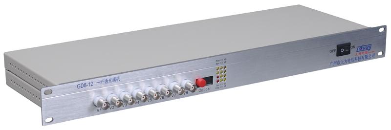 8路视频多业务光端机
