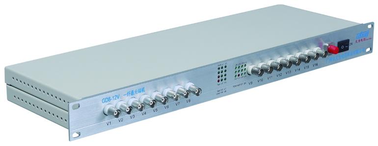 16路多业务视频光端机